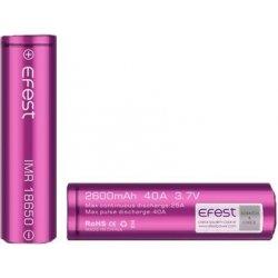 Efest IMR 18650 20A Purple Flat top 3500mAh
