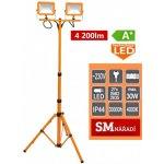 Ecolite LED reflektor na stojanu WORK RMLED-2x30W/STJ/ORA