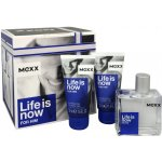 Mexx Life Is Now For Him EdT 50 ml + sprchový gel 2 x 50 ml dárková sada