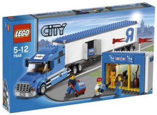 Lego City 7848 Toys 'R' Us Truck - 0
