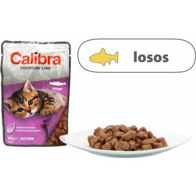 Calibra Cat kapsa Premium Kitten Salmon 100 g