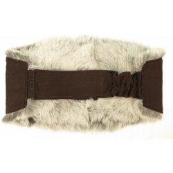 dd5a32325cdb Ledvinový pás kožešinový - králík stříbrňák LP 36 alternativy ...
