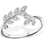 OLIVIE stříbrný prsten 0149