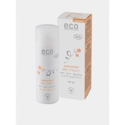 Eco Cosmetics CC krém SPF30 BIO light 50 ml