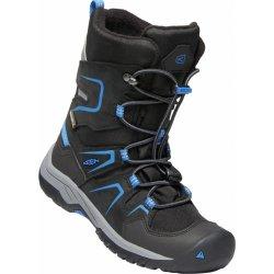 Dětská bota Keen Chlapecké sněhule Levo Winter WP C black baleine blue -  černé 643bd8a5f9