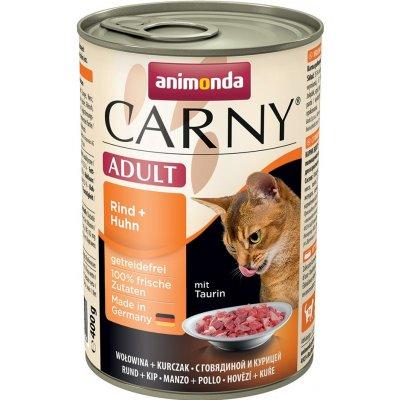 Animonda Carny Adult hovězí & kuře 400 g