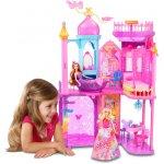 MATTEL Barbie Kouzelná dvířka Velký princeznin zámek