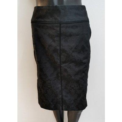 Bonita sukně se vzory černá
