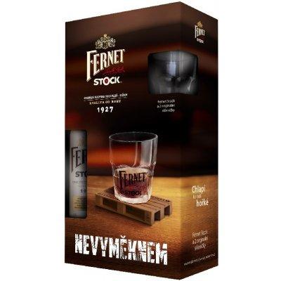 Fernet Stock dárkové balení 38% 0,5 l