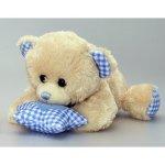 Keel Toys hrající medvídek s hvězdičkou modrá