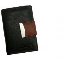 Nivasaža Dámská kožená peněženka červená (N43-MTH)