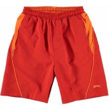 Slazenger Woven shorts junior boys red