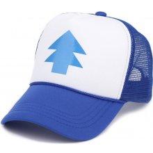c9a1fcd9392 Baseballová Čepice Truckerka Gravity Falls Modrá