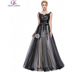 Grace Karin společenské šaty dlouhé GK000061-1 černá plesové šaty ... 2a6429ffe7