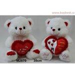 Medvídek se srdcem 35 cm