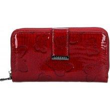 Loren Dámská kožená peněženka ti Selma červená