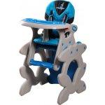 Caretero Primus modrá jídelní židlička