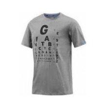 GIANT EYE CHART T Shirt 2017 grey