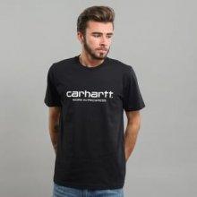 Carhartt WIP Wip Script Tee černé