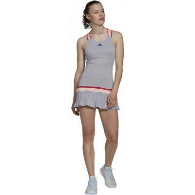 Adidas Performance dámské šaty Y-dress H.RDY světle šedá