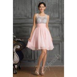 10072fdbe976 Společenské šaty krátké růžové light CL7508 alternativy - Heureka.cz