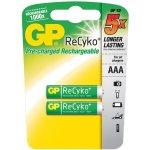 Baterie GP Recyko+ 850mAh AAA 2ks