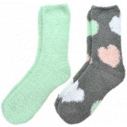 fa7a49ea04d dámské chlupaté ponožky Zelené a šedé alternativy - Heureka.cz