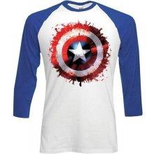 Captain America dlouhý rukáv