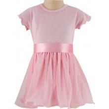 84fb046163db ESITO Dívčí šaty tylové růžová
