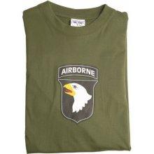 MIL-TEC tričko airborne olivové 145g/m2