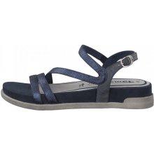 Tamaris dámské sandály modrá