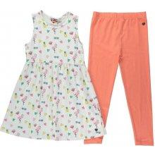 Lee Cooper Dress and Leggings Set Junior Girls AOP Holiday