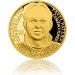 Česká mincovna Zlatá čtvrtuncová mince Legendy čs. hokeje Pavel Patera proof 7,78 g