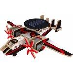 Robotime P340S vojenské letadlo s radarem na solární pohon