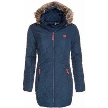 Loap zimní kabát dámský Tonka modrý