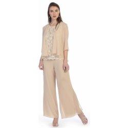 8cbefd8ee24 Glamor kalhotový kostým pro společenskou událost šampaň   champagne ...