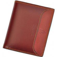 Harvey Miller Polo Club 8 PL03 pánská kožená peněženka hnědá