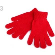 Stoklasa dámské pletené rukavice 3 červená 887d87a305