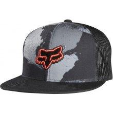 Fox Carnage Camo Snapback Hat charcoal