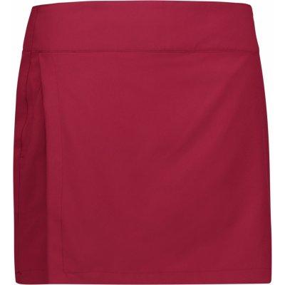 sukně se šortkami vínová