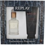 Replay Jeans Original For Him EdT 30 ml sprchový gel 100 ml dárková sada