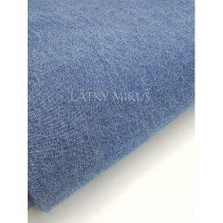 86719e45b2be Metráž č.602 riflovina sv.modrá cena za m2
