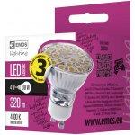 Emos LED žárovka Classic MR16 4W GU10 Neutrální bílá