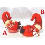 IN-spirace Figurka vánoční RED BOY ležící 12cm Provedení: B