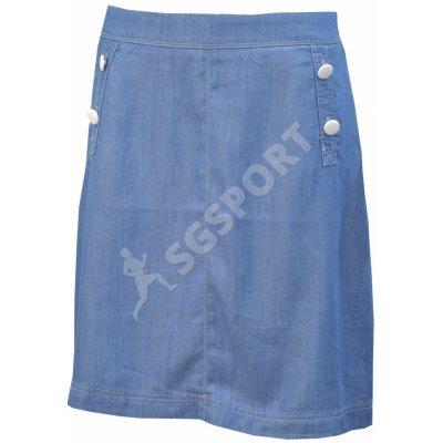 TBS sukně nad kolena TENCEJUP modrá