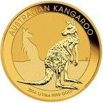 Kangaroo Investiční zlato zlatá mince 15 AUD Australian Klokan rudý 1 10oz 2016