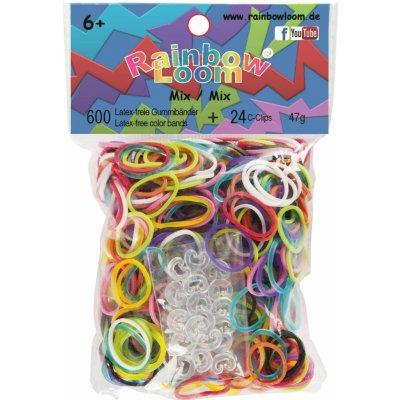 RAINBOW LOOM Original gumičky 600 kusů mix barev