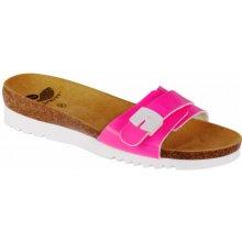 01f315db547 Scholl Dámské pantofle Ginni Bioprint Rose F271541609