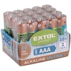 Baterie EXTOL ENERGY ULTRA AAA 20ks