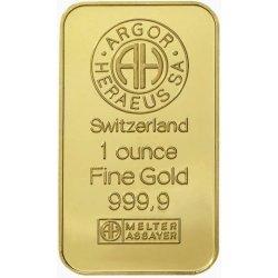 Argor Heraeus SA Zlatý slitek 1oz